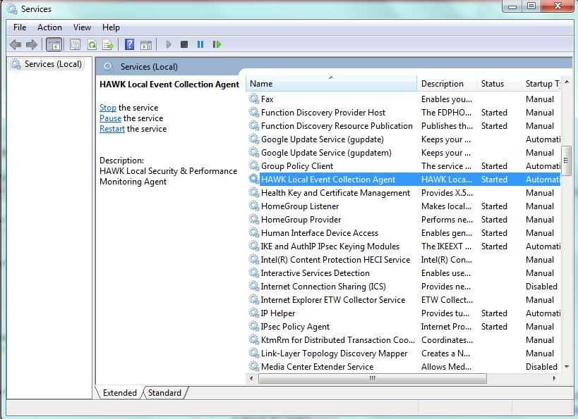 3  Tier 3 Server/Application Configuration — HAWK eyeCon